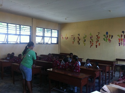 Githa-teaching english Barefoot Conservation