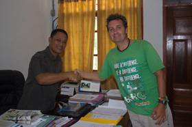 Barefoot Conservation meets Head of Tourism for Raja Ampat